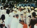 中央アフリカ帝国皇帝ジャン=ベデル・ボカサの戴冠式