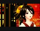 【DIVA-F】鏡音八八花合戦 鏡音リン桜月、MEIKO紅椿 フルHD