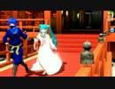 【Project DIVA Arcade】番凩【PV】初音ミク - 雪ミク 2013 AS × KAITO -  VFニンジャ