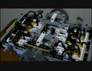 LEGOで6気筒水平対向エンジン(空気圧)