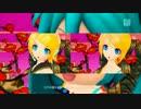 【DIVA-F】鏡音八八花合戦【通常:追加演出比較】