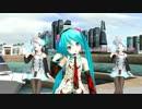【MMD】あぴミク・テト/Lat式ピコ 『Melody_Line』