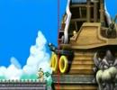 【2人実況】 画面半分にして左右でマリオ part8