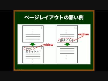 ゆっくりが論文の書き方を教えるよ 第32回 脚注・付録,ページレイアウト