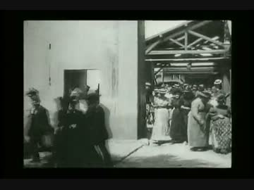 The movie screened for the first time in the world - First Films (1895)