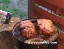 特大の豚肩肉を焼こう!
