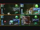【4画面で見る】EDF3P いきなりINFオンライン St.11 地底潜入