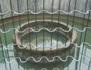 北九州市小倉南区徳力の円筒分水へ行ってきた《R322桜橋近く》