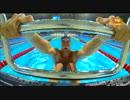 世界水泳バルセロナ 男子100M 背泳ぎ 決勝 入江陵介 萩野公介