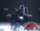 ダンマス4公式 踊り手5人で「MERRY GO ROU