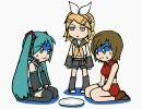 【初音ミク】 ミクとMEIKOが妹に怒られました 【BIAB+Jamバンド】