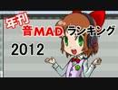 年刊 音MADランキング2012 Part 1(60位~21位)