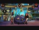 Skullgirls PC版 ピーコックのコンボいくつか