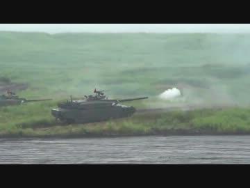 2013.8.25 富士総合火力演習 10式戦車