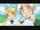 【APヘタリア合作】 だんでまゆげ 【手描き&人力】 thumbnail