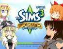 魔理沙とアリスのクッキー☆☆sims3.KNN