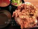 自宅で、デカ盛り作ってみた。~大盛りから揚げ丼編~