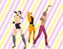 【MMD】三人組でHurly Burly
