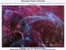2013年 10月1日 「ほ座超新星残骸の糸」-Astronomy Picture of the Day