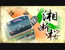 湘新桜【湘南新宿ライン×千本桜】