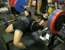 フルギアベンチプレス260kg
