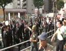 何これ?(´・ω・`)得意の絶頂のしばき隊が白昼の新宿で野間コールw