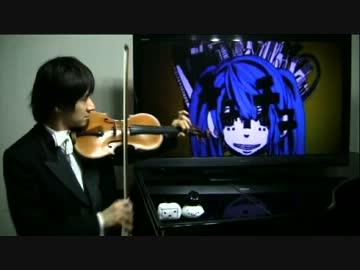 【初音ミク】マトリョシカをヴァイオリンで演奏【GUMI】