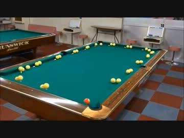 Billiards trick shot 183 repeats.mp4