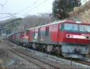 東北本線貨物列車 ED75+DE10重連 DE10牽