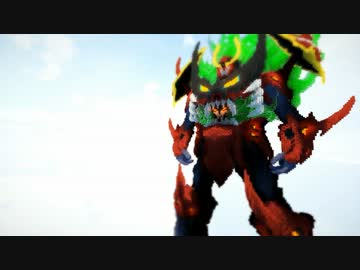 【MineCraft】マイクラで天元突破グレンラガン作ってみた ...