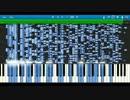 [MIDI空耳]チルノのパーフェクト(ryを採譜したらチルノの声が聞こえたw