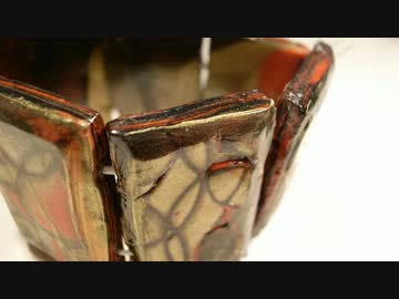 【樹脂粘土】木目金柄ブレスレット作ってみた(全工程)