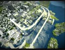 【Minecraft】 遥か昔に滅びた旧文明の町作った 【海と雪の遺跡】