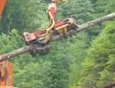 見ていて気持ちいい林業伐採マシン