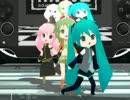 【MMD】 ちっちゃい3人娘がPerfumeの「H