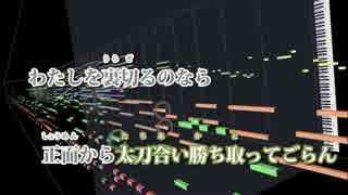 【ニコカラ】劔(Off Vocal)【天野月子】