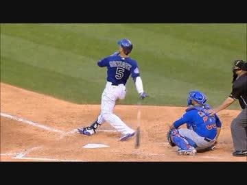 【MLB】 Major League's bat throw & throw away + pleasant sound for 60 seconds endurance