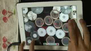 【iPad Drum】X JAPAN ~Silent Jealousy~