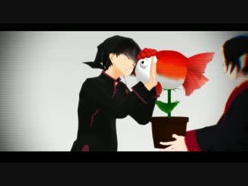 "【 MMD Oni Toru 】 Mr. Kurosawa ""The girl is bright at night"" singing · Re-"