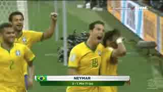 【FIFA World Cup2014】ブラジル vs クロ