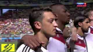 2014 W杯 出場国の国歌を聴こう ⑪ ドイツ&ポルトガル