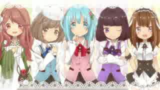 【ごちうさOP】Daydream café 歌ってみた✿ Nico Rabbit's