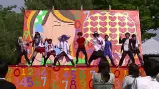 【2014春】踊ってみたin大阪府立大学「ハピネスチャージGOD!」【GOD団】3/4 thumbnail