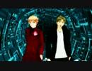 【APヘタリアMMD】【テニプリMMD】サイバーアトベ―マユゲ―【人力】
