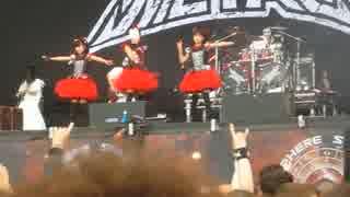 BABYMETAL 「メギツネ」 Sonisphere Festi