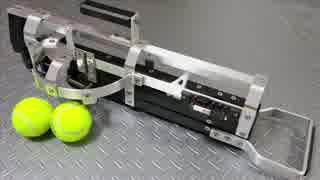 テニスボールランチャーを作ってみた 2号