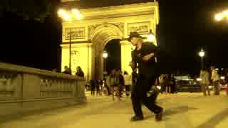 【TAKUMA】凱旋門の前でマカロンで踊ってみた【フランスに行ったった】