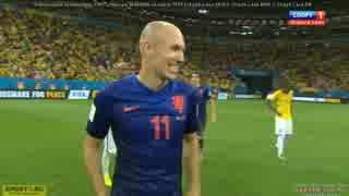 【悲劇再び】【FIFA W杯】ブラジルvs オラ