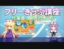 ゆかゆゆのフリーきっぷ講座~北海道・関西のきっぷ~