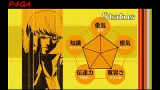 【アニメ・ペルソナ4】P4AとP4GAの1話見比べ